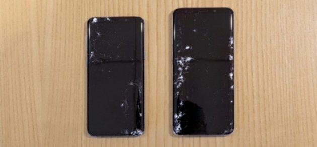 Результаты тестов на прочность Galaxy S9 и S9+: противостояние падениям и ударам