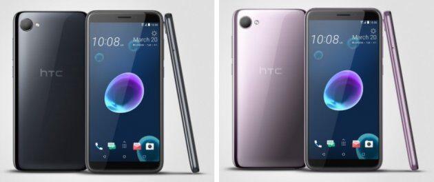 HTC Desire 12 и Desire 12+ представлены официально по привлекательным ценам