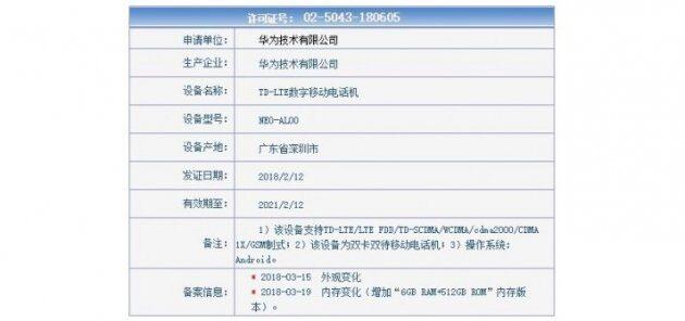 Huawei готовит телефон с 512 ГБ памяти