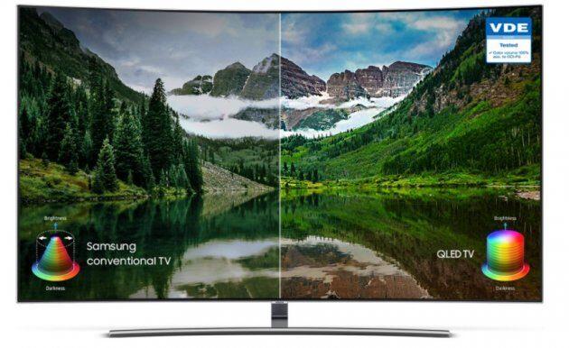 На веб-сайті Samsung опубліковані ціни на телевізори 2018 QLED