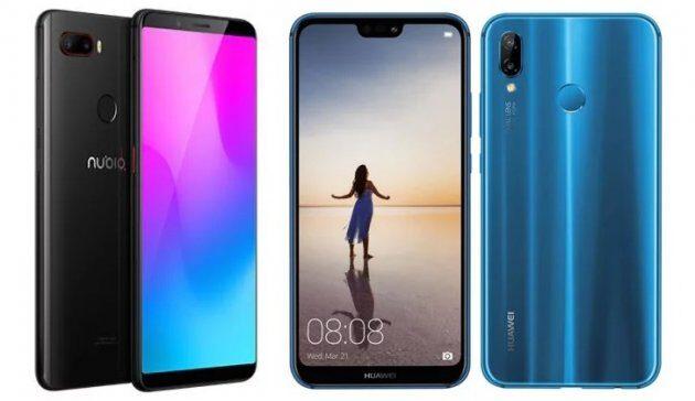 Nubia Z18 Mini против Huawei P20 Lite: сравнение характеристик