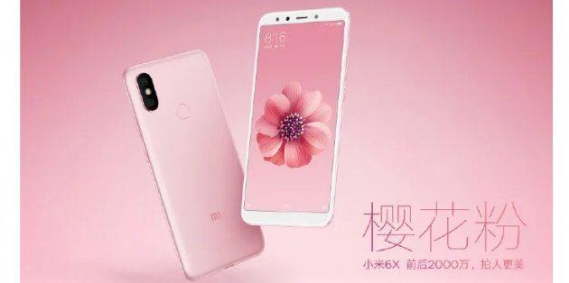 Xiaomi Mi 6X будет поставляться в 5 цветовых вариантах (фотографии)
