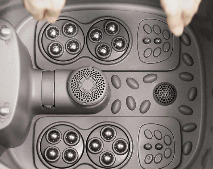 Массажер для ног колесики переносной проектор для ноутбука